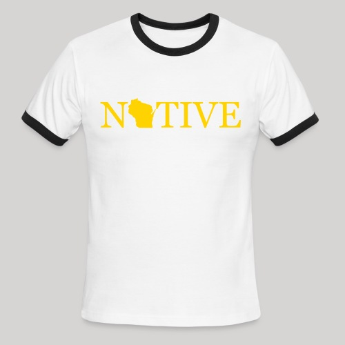 Wisconsin Native - Men's Ringer T-Shirt