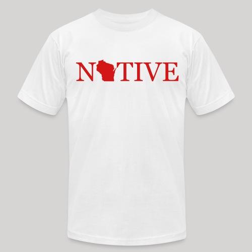 Wisconsin Native - Men's Fine Jersey T-Shirt