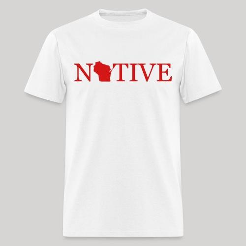 Wisconsin Native - Men's T-Shirt