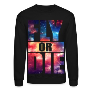 Mens FlyORDie Sweatshirt - Crewneck Sweatshirt