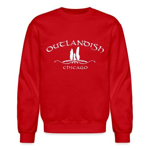 Men's Long Sleeve Outlandish Chicago Tshirt - Crewneck Sweatshirt
