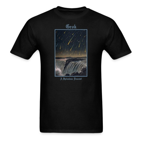 Grok - A Spineless Descent  - Men's T-Shirt