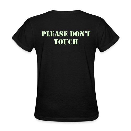 Just don't (curved sides) - Women's T-Shirt