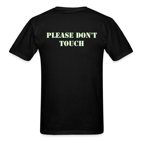 Just don't (straight sides) - Men's T-Shirt