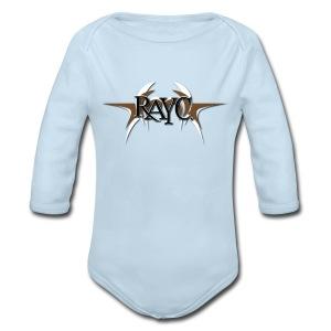 Tribal Wings Logo - Long Sleeve Baby Bodysuit