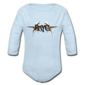 Tribal Wings Logo - Long Sleeve Baby Bodysuit