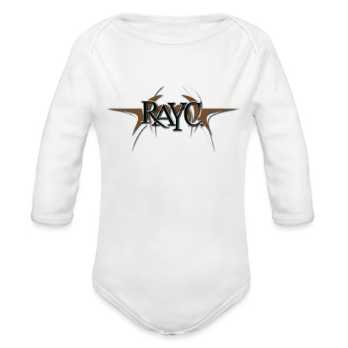 Tribal Wings Logo - Organic Long Sleeve Baby Bodysuit