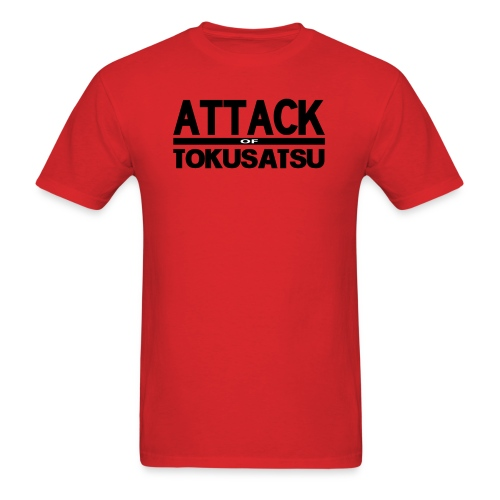 Attack of Tokusatsu Logo T-Shirt - Men's T-Shirt