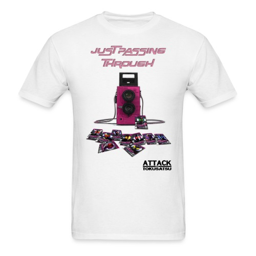 Just Passing Through Decade T-Shirt - Men's T-Shirt
