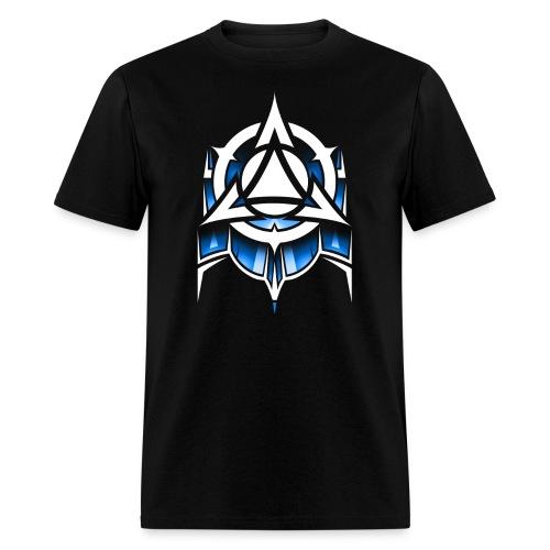 Abstract Blue - Men's T-Shirt