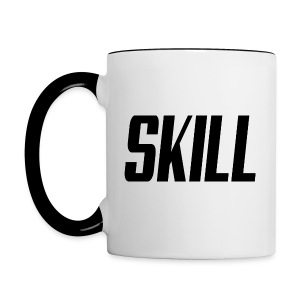 Skill Coffee - Right hand - Contrast Coffee Mug