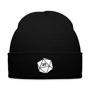 D20 Toque - Knit Cap with Cuff Print