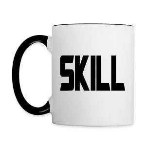 Skill Coffee v2 - Right hand - Contrast Coffee Mug