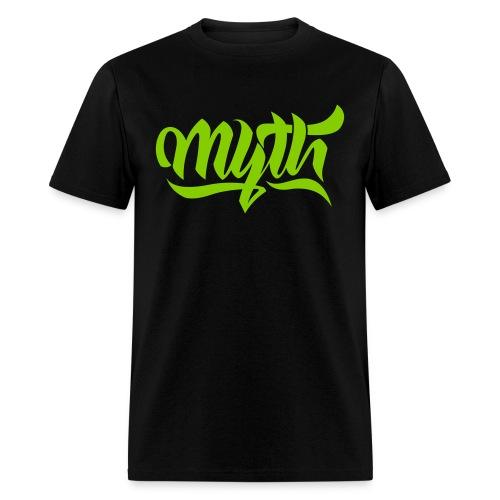 Calligraphy Green - Men's T-Shirt