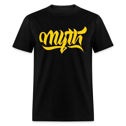 Calligraphy Yellow - Men's T-Shirt