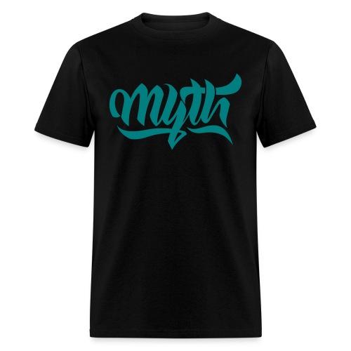 Calligraphy Teal - Men's T-Shirt