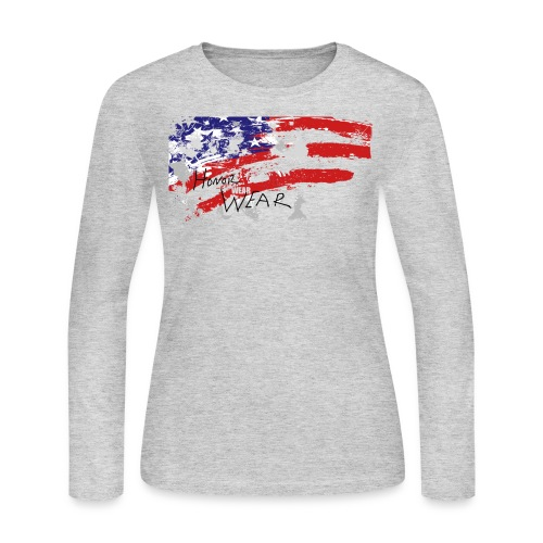 Honor Wear LS - Women's Long Sleeve Jersey T-Shirt