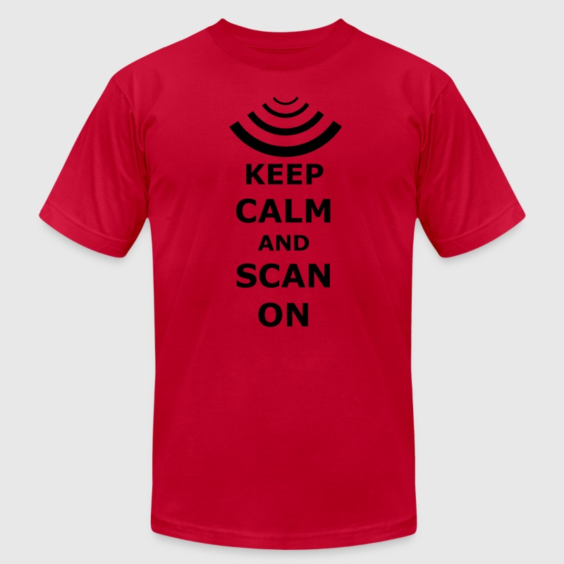scanon T-Shirts - Men's T-Shirt by American Apparel