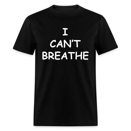 I Can't Breath Eric Garner Lightweight T Shirt - Men's T-Shirt
