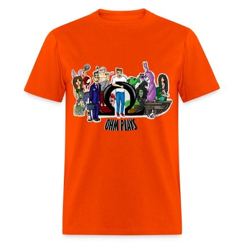 Official Ohm Plays Men's Tee - Men's T-Shirt