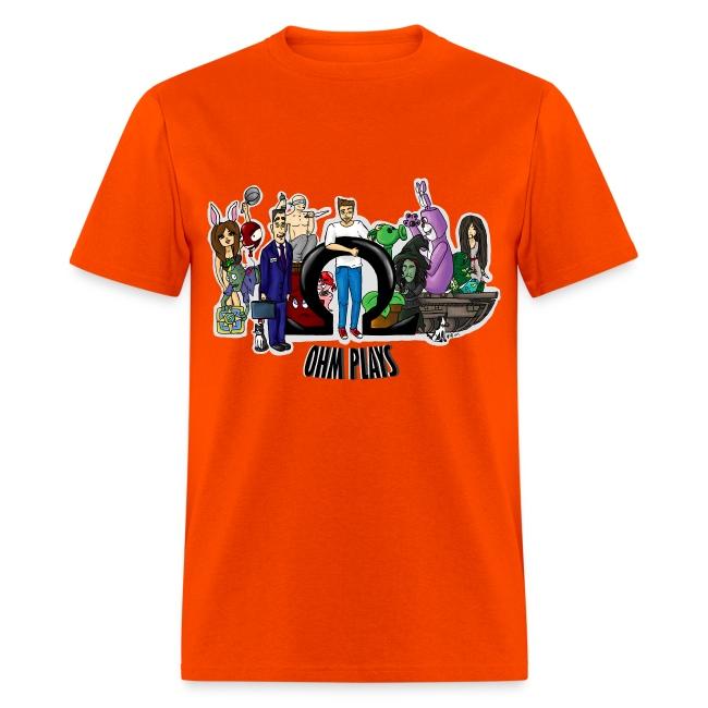 Official Ohm Plays Men's Tee | Men's T-Shirt