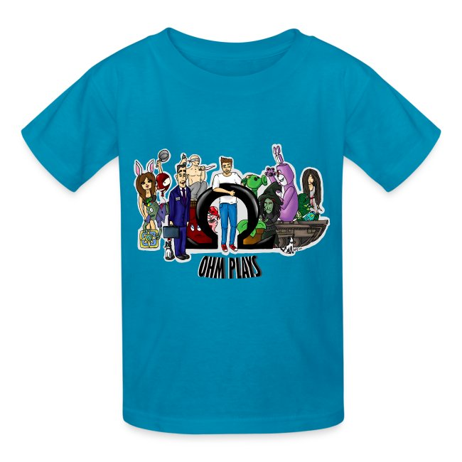 Official Ohm Plays Kid's Tee