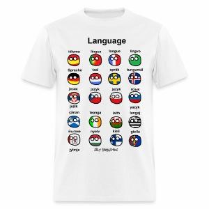 Languages (European version) - Men's T-Shirt