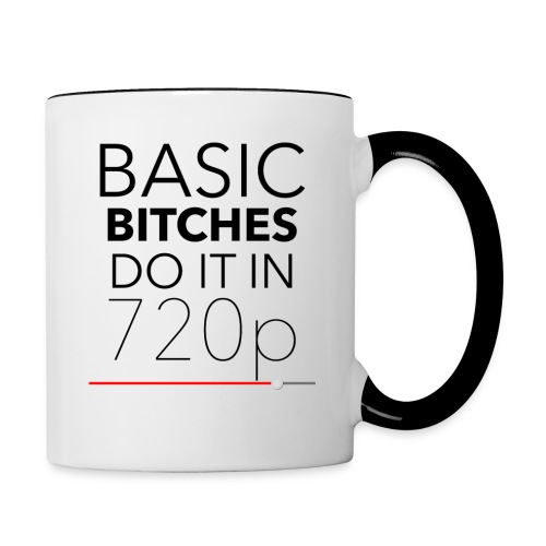 Baisc Bitches - Contrast Coffee Mug