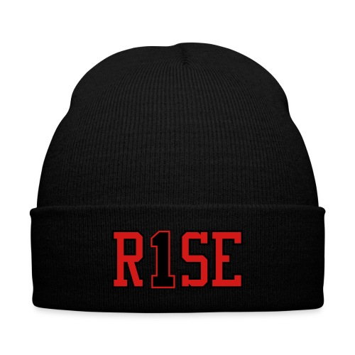On The Rise Hat - Knit Cap with Cuff Print