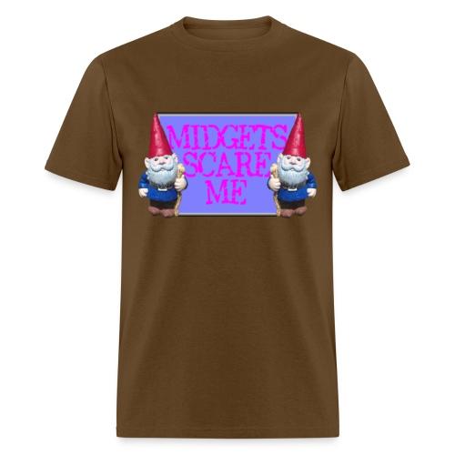 Midgets Scare Me - Men's T-Shirt