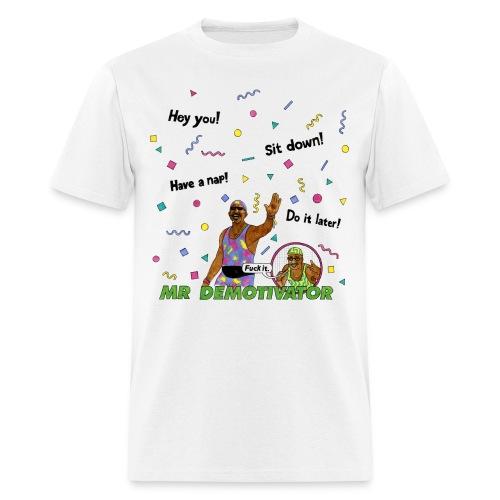 Mr. Demotivator T-shirt - Men's T-Shirt