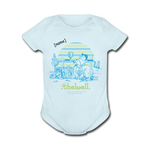 PonyWinThelwell Cartoon - Short Sleeve Baby Bodysuit