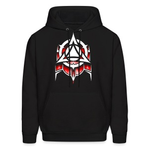 Abstract Red - Men's Hoodie
