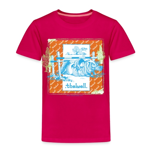 PonyFall blue Thelwell - Toddler Premium T-Shirt