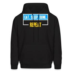 Eat Sleep Dunk Repeat Hoodie - Men's Hoodie