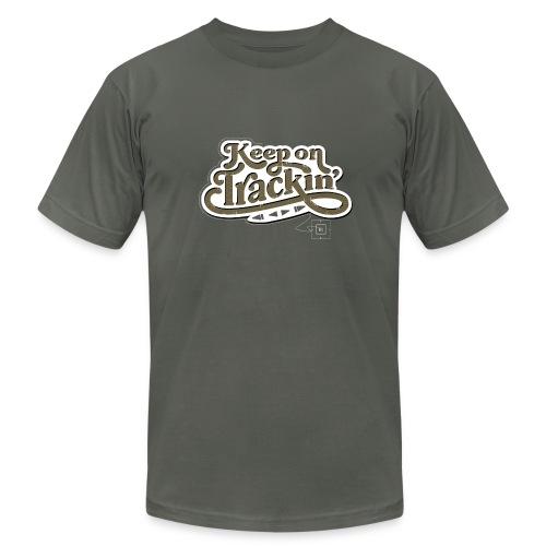 Keep on Trackin' - Men's Fine Jersey T-Shirt