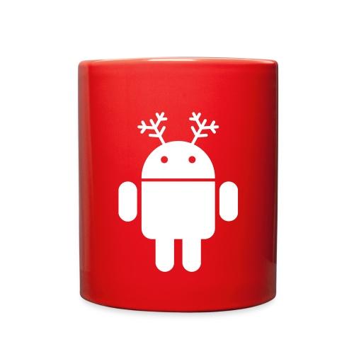 merry christmas santa claus hat android - Full Color Mug