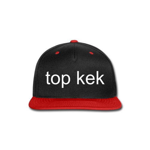 top kek hat - Snap-back Baseball Cap