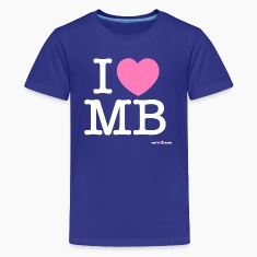 I heart MB Kids' Shirts