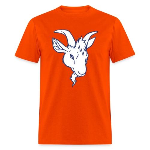 Goat #54 Orange  - Men's T-Shirt