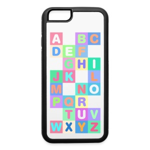 iPhone 6 Alphabet Phone Case - iPhone 6/6s Rubber Case