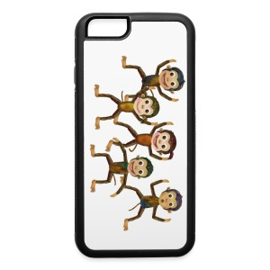 iPhone 6 Monkeys Phone Case - iPhone 6/6s Rubber Case