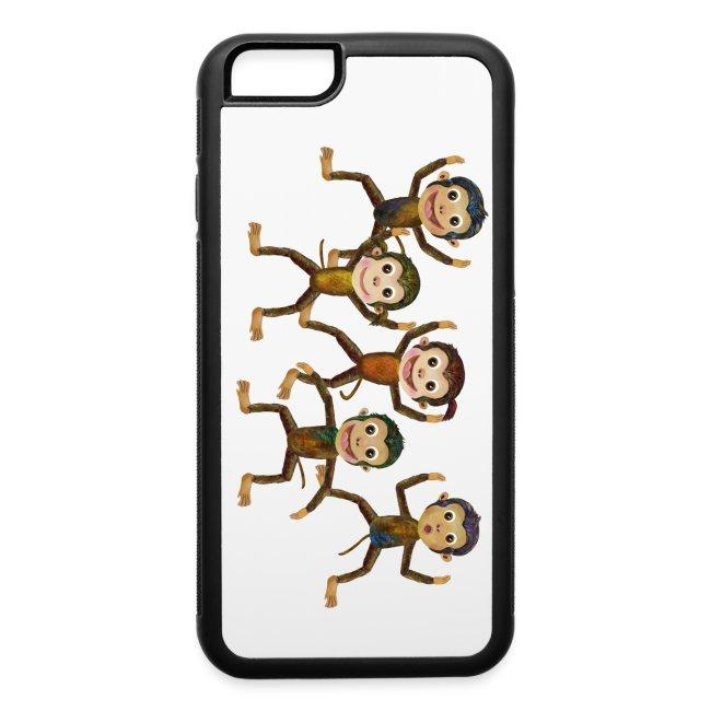 iPhone 6 Monkeys Phone Case