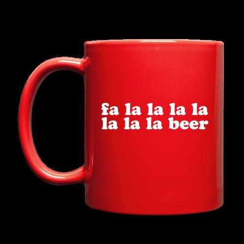 Fa La La La Beer Coffee Mug - Full Color Mug