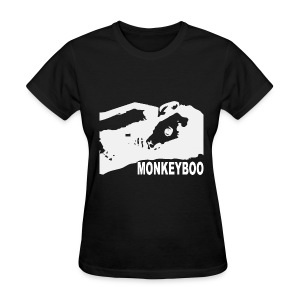 White on Black - Women's T-Shirt