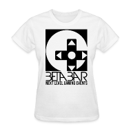 T-Shirts ~ Women's T-Shirt ~ Ladies B/W Logo Tee