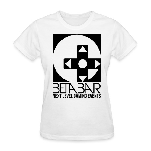 Ladies B/W Logo Tee - Women's T-Shirt