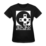 T-Shirts ~ Women's T-Shirt ~ Ladies W/B Logo Tee