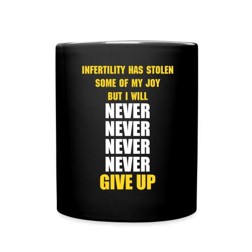 Never Give UP - Full Color Mug
