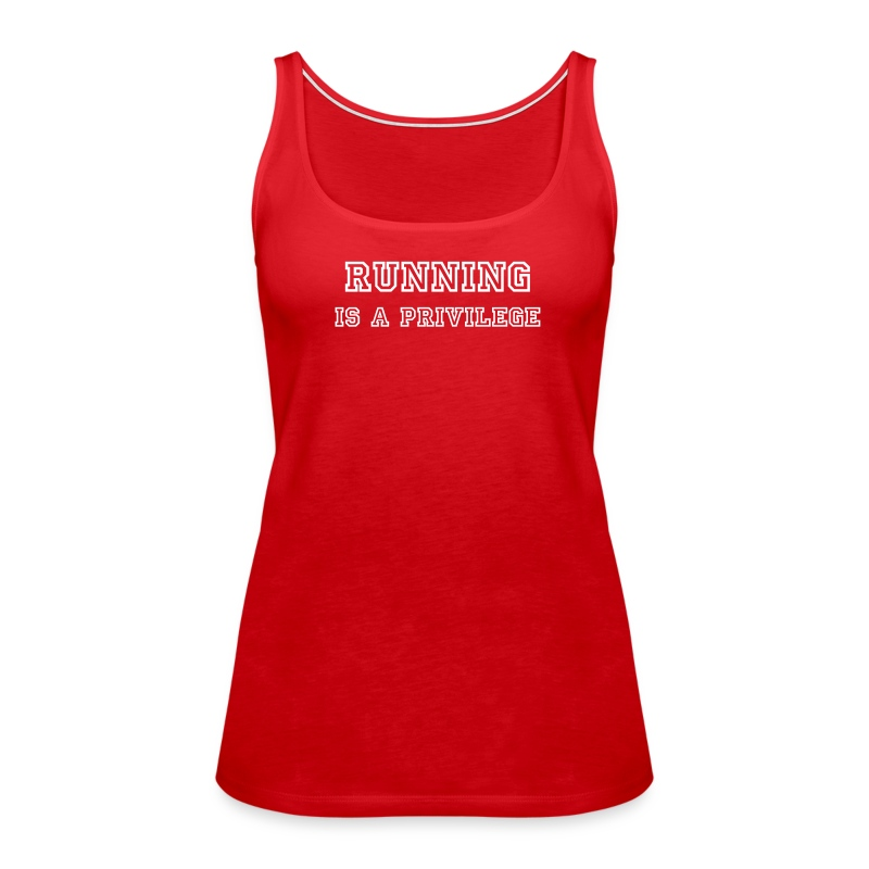 Running Tee - Women's Premium Tank Top